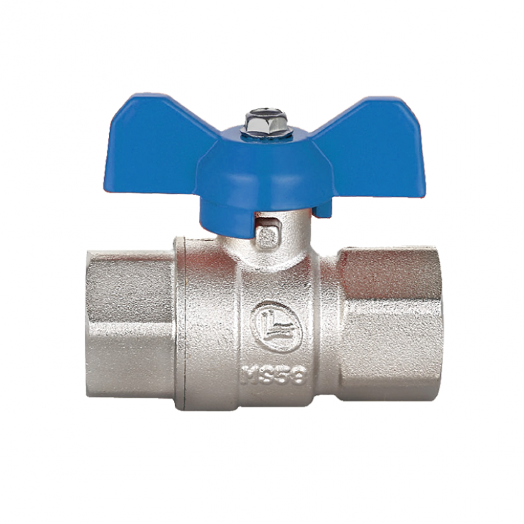 Brass Ball Valve Short Handle F/F